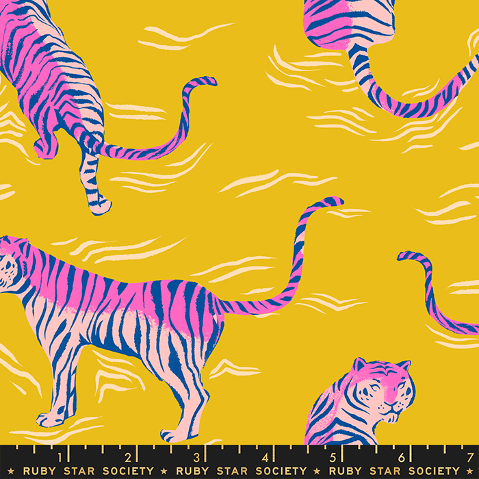 Tiger Fly - Rayon - Yellow - RS2017 13