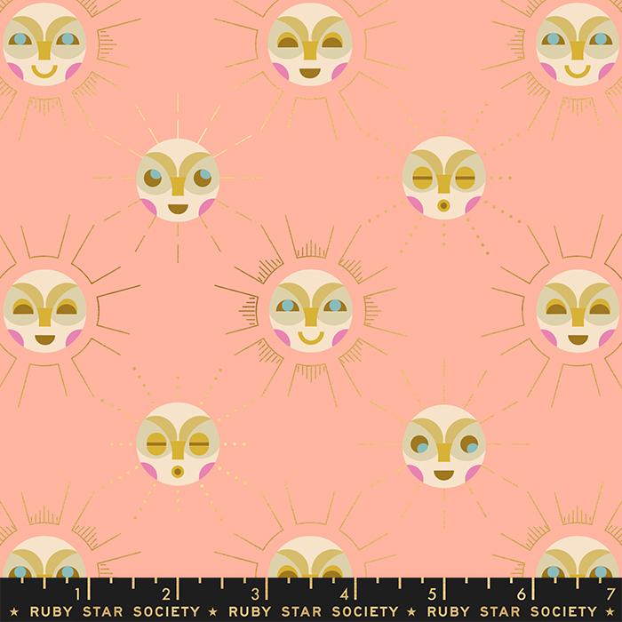 Moda Ruby Star Society Stellar Metallic Sunny Moon Peach