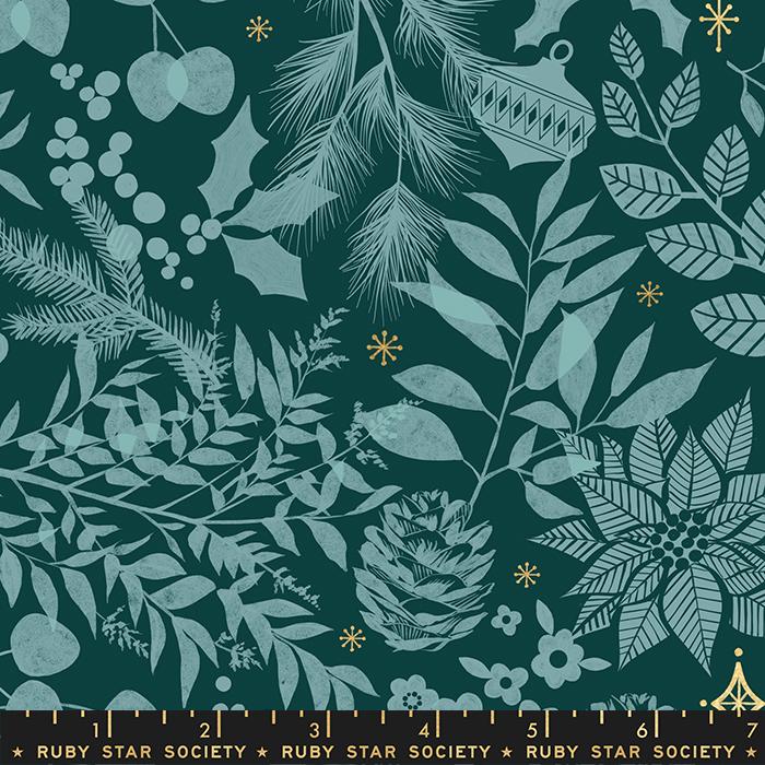 Candlelight Prints - Winter Garden Pine