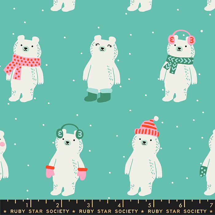 Flurry Snow Bears in Icebox