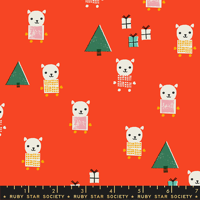 Ruby Star Society Flurry Meowy Christmas Ruby RS5030 13
