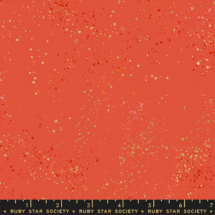 RS5027 75M Festive Speckled Metallic Ruby Star Society