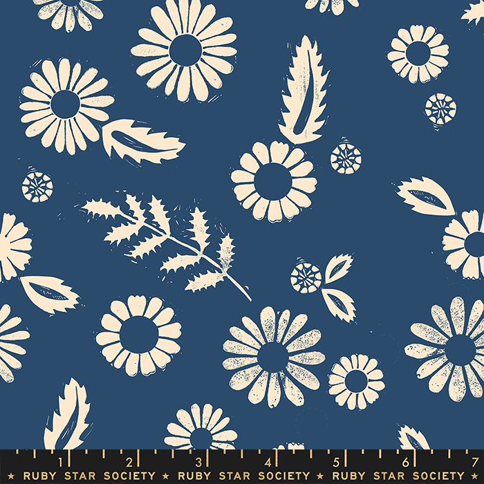 Ruby Star Society Golden Hour Rayon - Bluebell 44