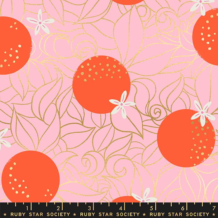 RS2025 12M Posy Orange Blossoms Florida Ruby Star Moda