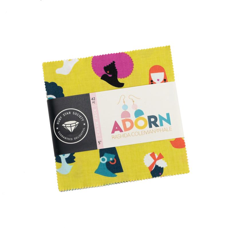 Adorn Charm Pack 5X5 (Rashida Coleman Hale)