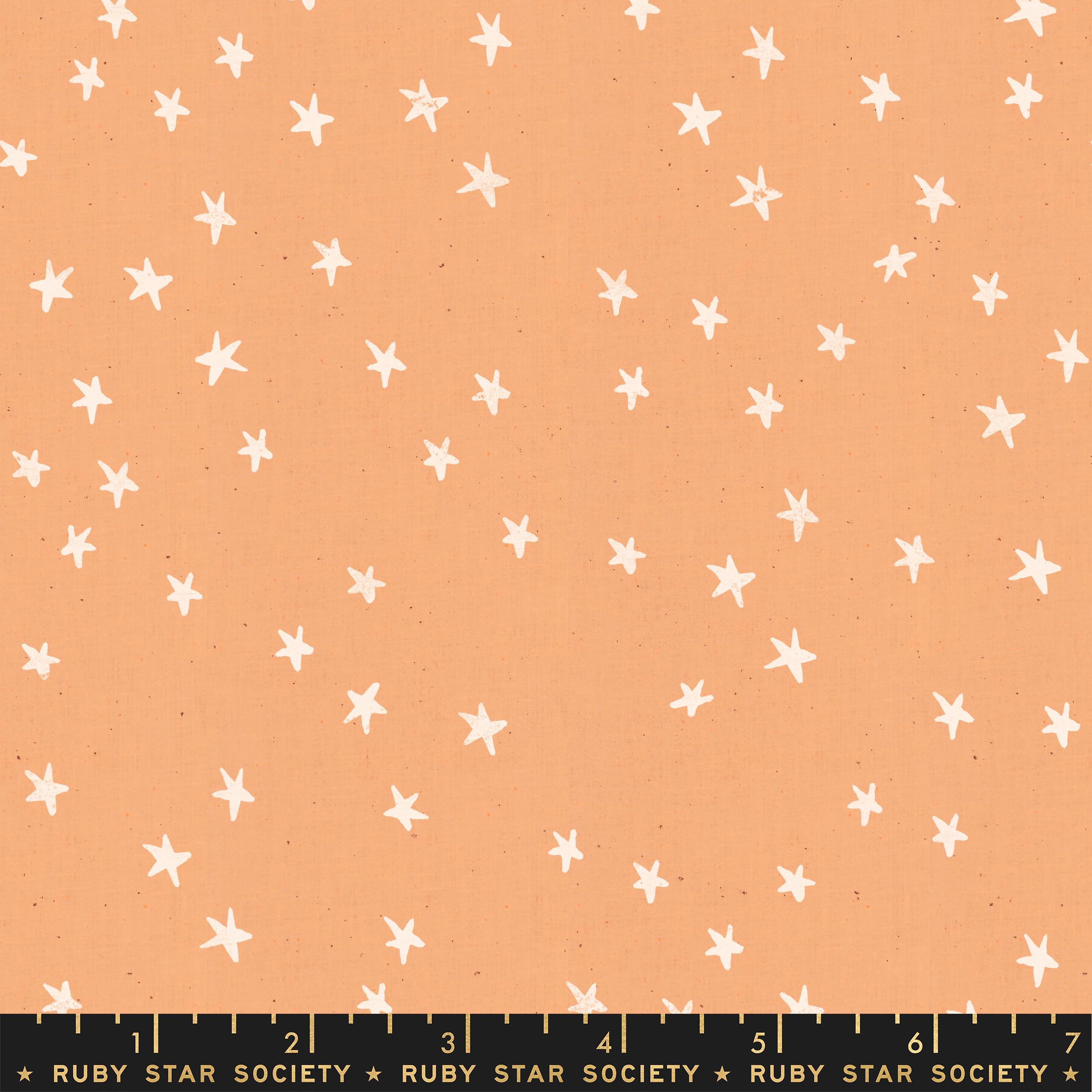 Starry - Star Night Sky - Warm Peach RS4006 17