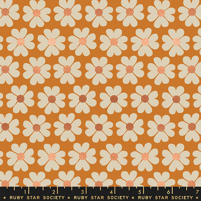 Unruly Nature - Heart Flower - Caramel RS6011 12M