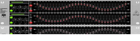 Behringer Ultragraph FBQ-PRO 31-Band Graphic EQ