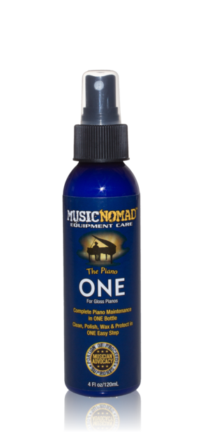 Music Nomad The Piano One Cleaner Polish Wax for Gloss Pianos