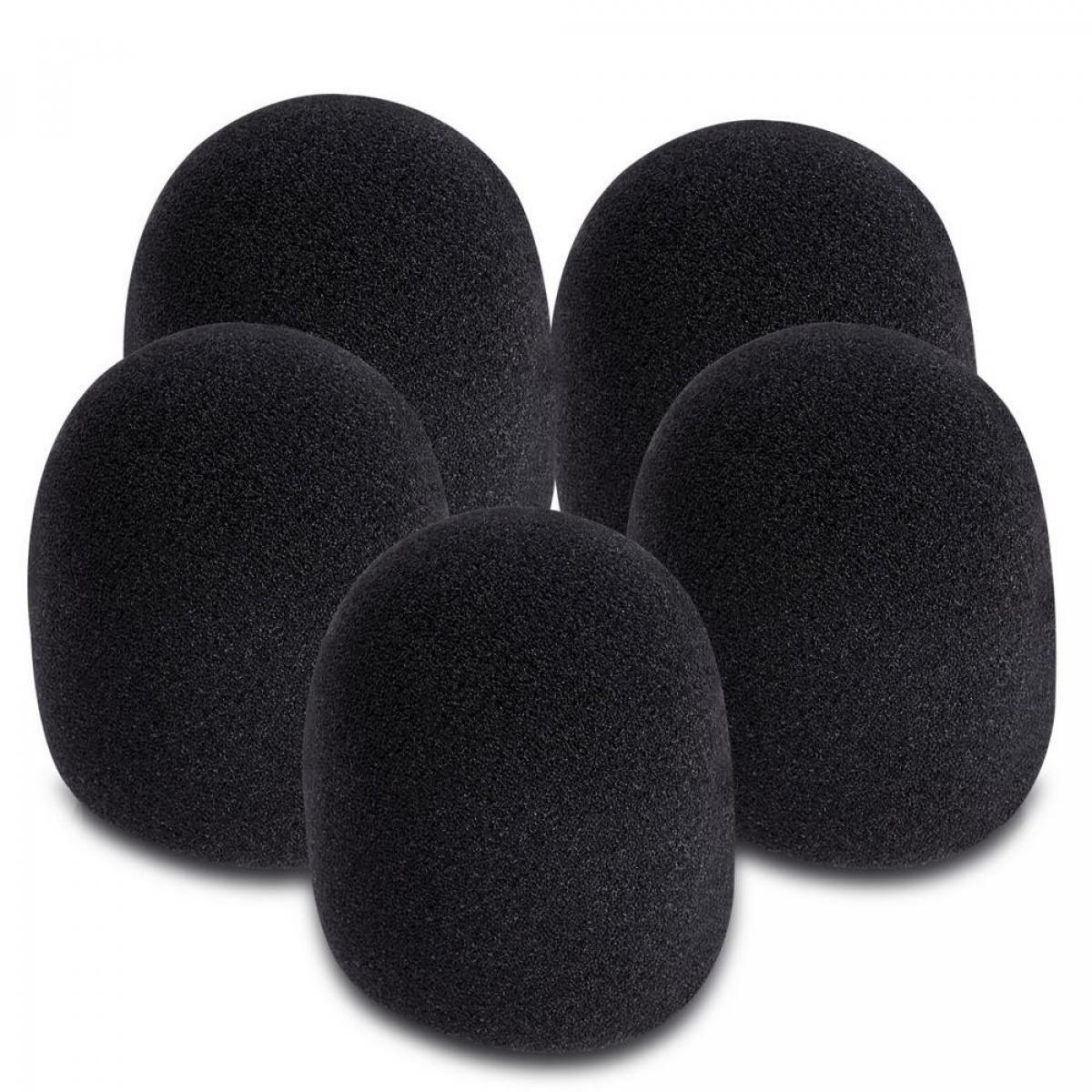Foam Microphone Windscreens 5-pack