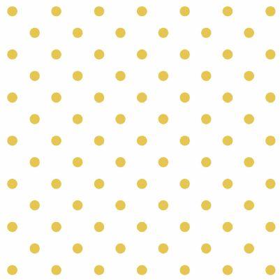 Dark Romance Gold Dot - White