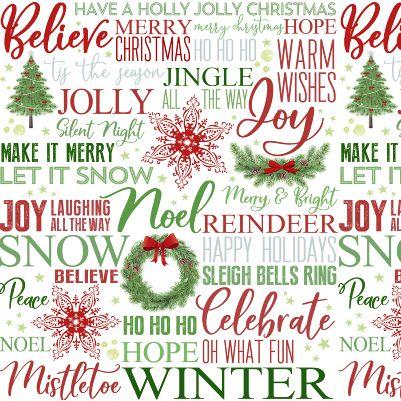 Holiday Heartland - Christmas Words