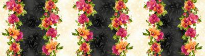 Paradise floral border
