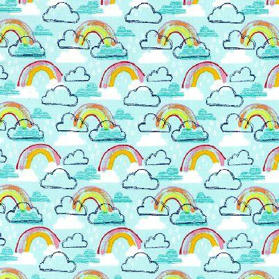 Rainbow Kids- Turquoise