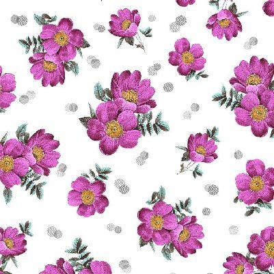 La Parisienne- Magenta Flower
