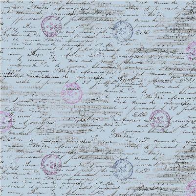 La Parisienne- Notes - Blue