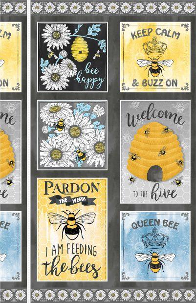 Michael Miller Queen Bee Panel