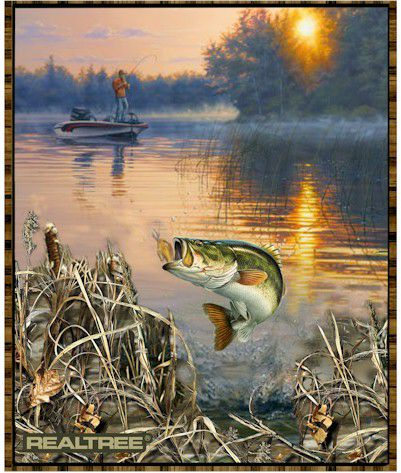 RealTree Cotton FISH panel