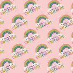I Believe in Unicorns - Pink Rainbows