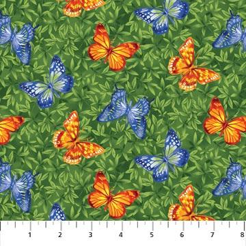 Wild Texas - Butterflies Over Leaves