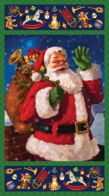 Santa's Surprise20598 46 Panel