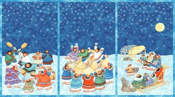 Arctic Snow - Snow Blanket Panel