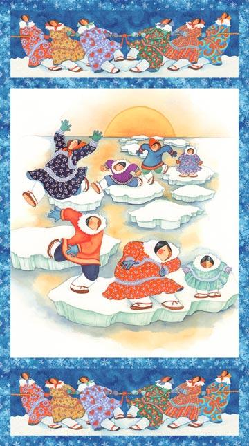 Arctic Snow - Panel Dancing Iceburg