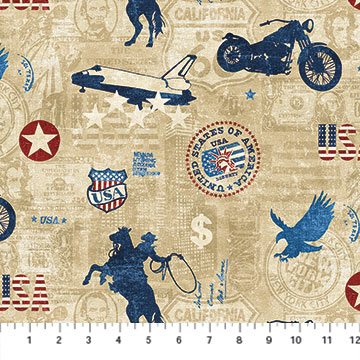 American Vintage by Northcott 21335-12
