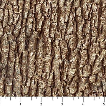 Northcott NATURESCAPES 21397-36 BROWN Bark