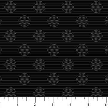 Northcott- Simply Neutral - Black 22136-99