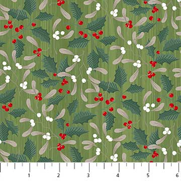 Swedish Christmas - Green 22295-74