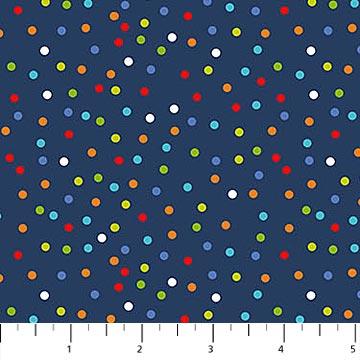 Big Bang - Single Colorway 22505-49 Navy Dot
