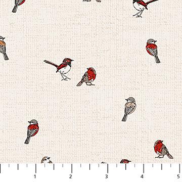 Woodland Pitter Patter Bird Print