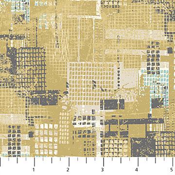Urban Grunge 22675-54 Mustard