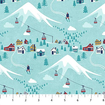Hit the Slopes Village on Turquoise