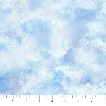 Country Pastime Lt Blue Clouds