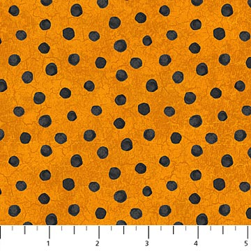 Raven's Claw Orange with Black dots 22869-56