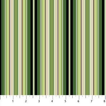 Bouquet - Green Multi Stripe
