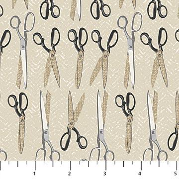 Material Girl 23220 - Grey Scissors