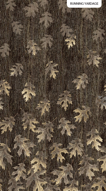 N-23235-98 Oakwood Slate Oak Leaf Ombre