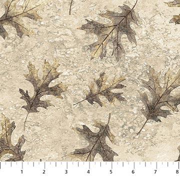 Oakwood - Tossed Leaves in Stone