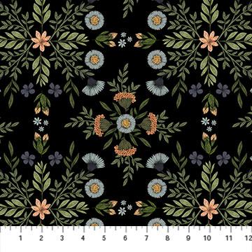 Bee Kind -- 23784-99 Bee Kind Floral/Black Multi