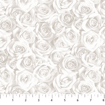Budding Romance White Roses