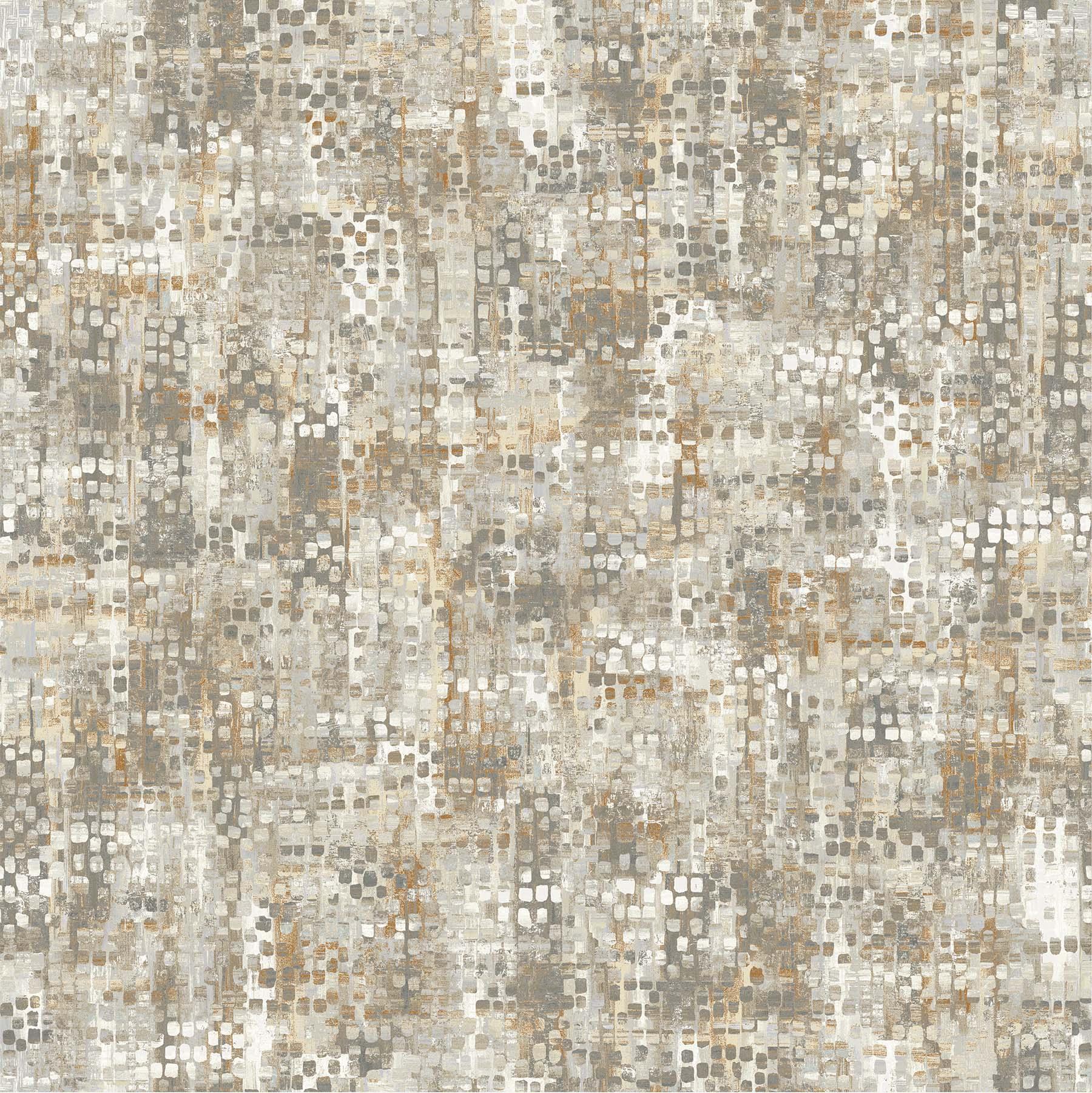 OPHELIA GRAY BEIGE - 23953-34 - 1/3 yd
