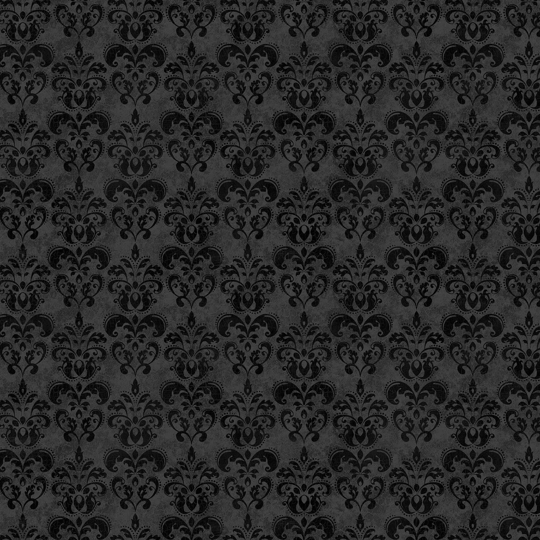 BLACK CAT CAPERS BLACK GRAY 24124-99