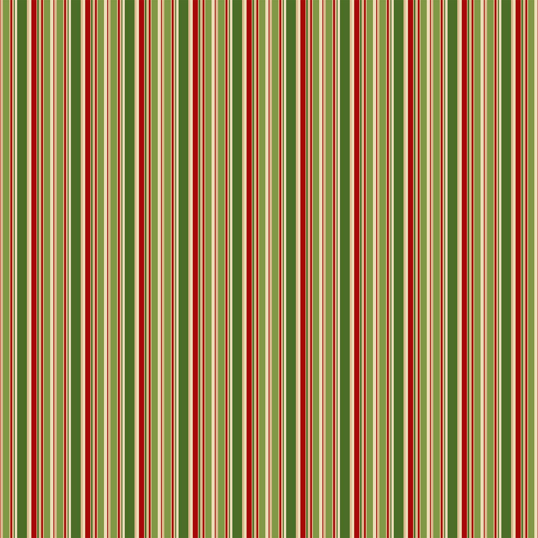 Old Time Christmas Stripe 24140 74