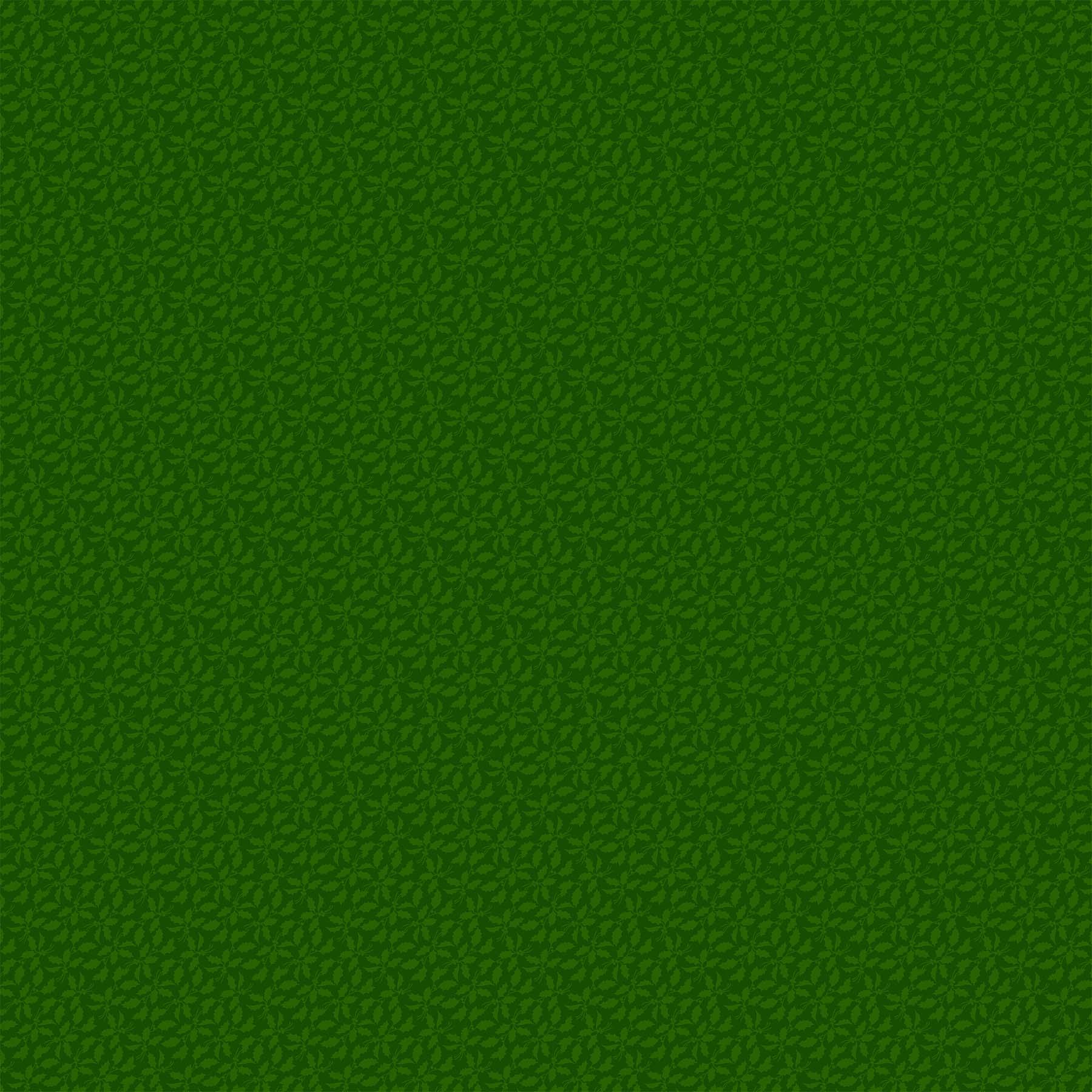 Old Time Christmas Green