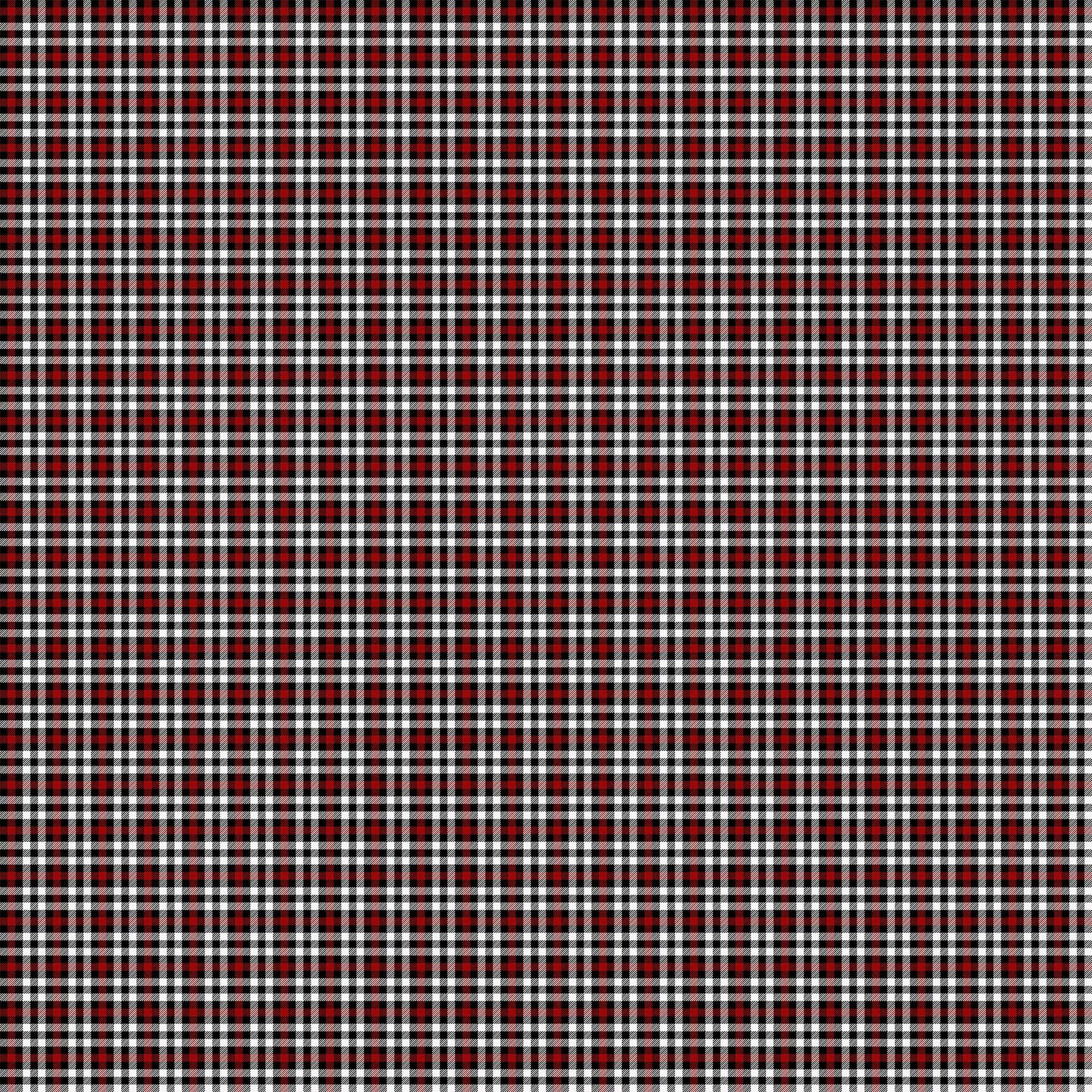 Alpine Winter 24339-10 Red Black White