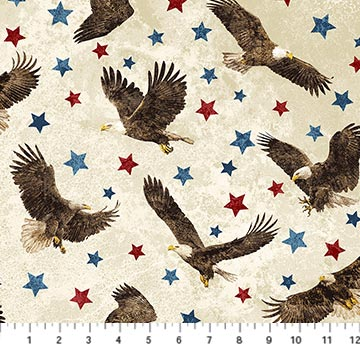 Eagle with Stars