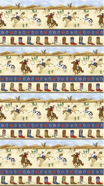 Rodeo Roundup - Single Colorway 4856-44/Cheri Strole